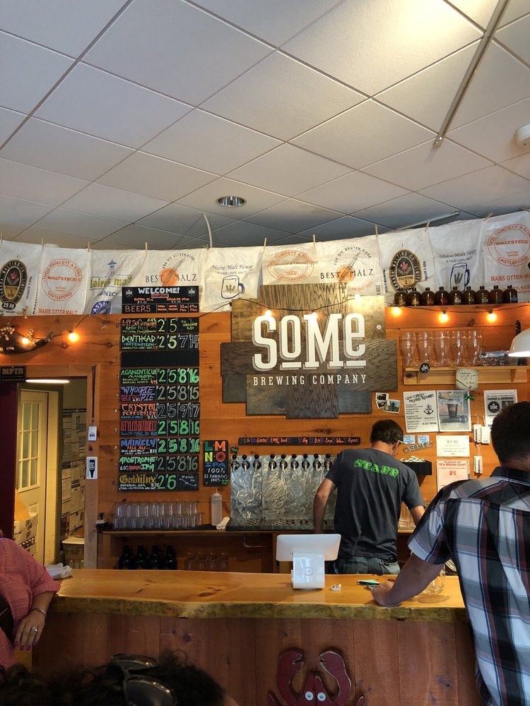 SoMe Brewing Company: 1 York St, York, ME