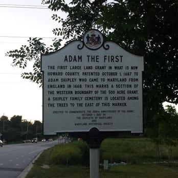 Adam The First Historical Marker Landmarks Historical Buildings