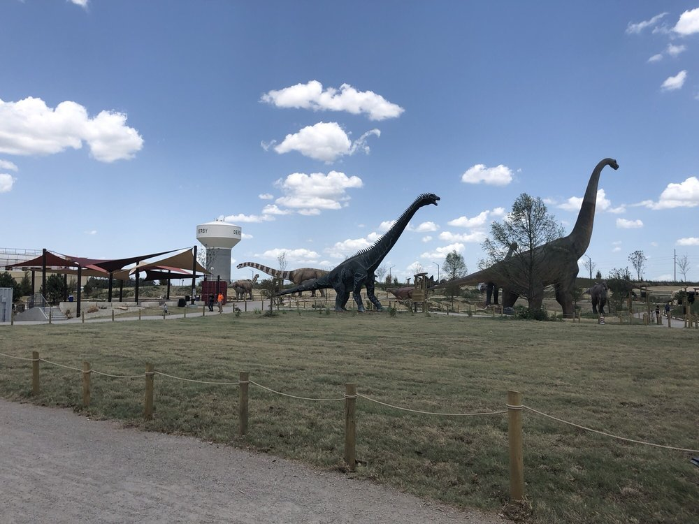 Field Station Dinosaurs: 2999 N Rock Rd, Derby, KS