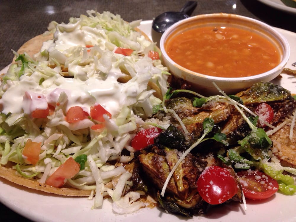 Maji mahi tacos with brussel sprouts and beans yelp for California fish grill