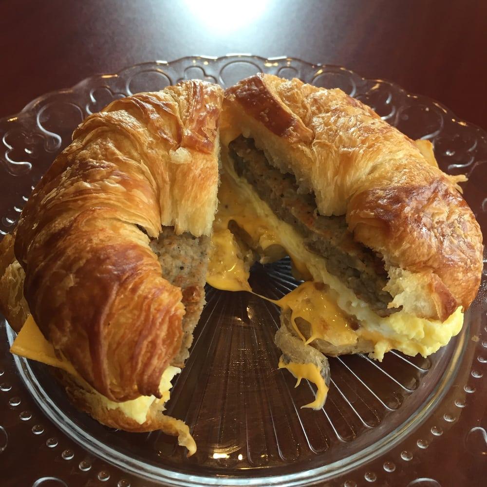 Denver Big Air Event Heiditown: Sausage Breakfast Croissant