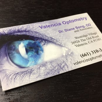 Valencia optometry 16 photos 51 reviews optometrists 26926 photo of valencia optometry valencia ca united states business card from years colourmoves