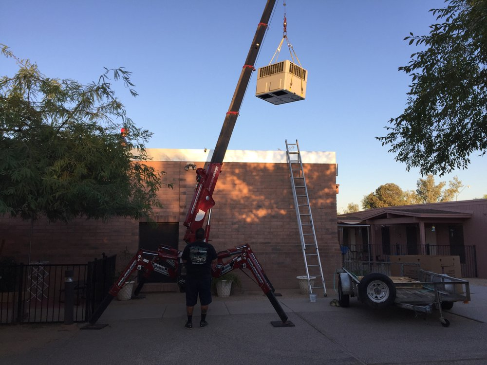 Mobile Crane Near Me : Install with spyder crane yelp