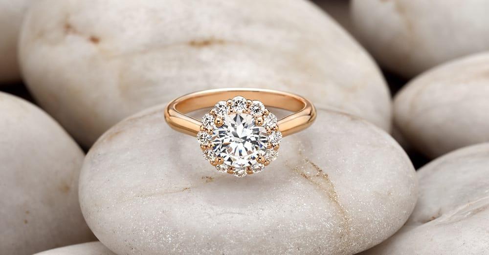 lotus flower diamond ring yelp