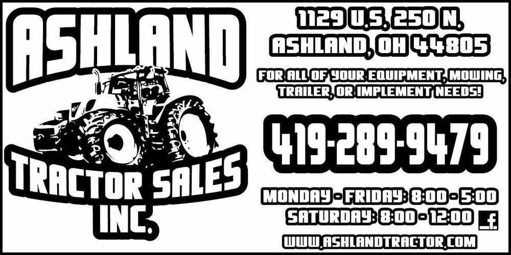 Ashland Tractor Sales: 1129 US 250 N, Ashland, OH