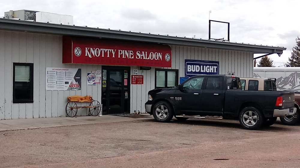 The Knotty Pine Saloon: 603 W 6th St, Pine Bluffs, WY
