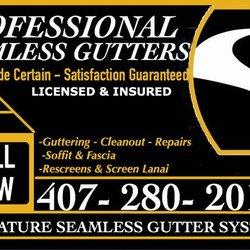 Signature Seamless Gutters Gutter Services Horizons