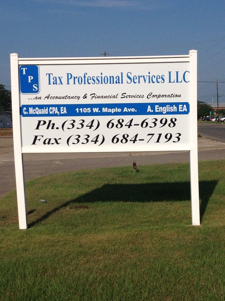 Tax Professional Services: 1105 W Maple Ave, Geneva, AL