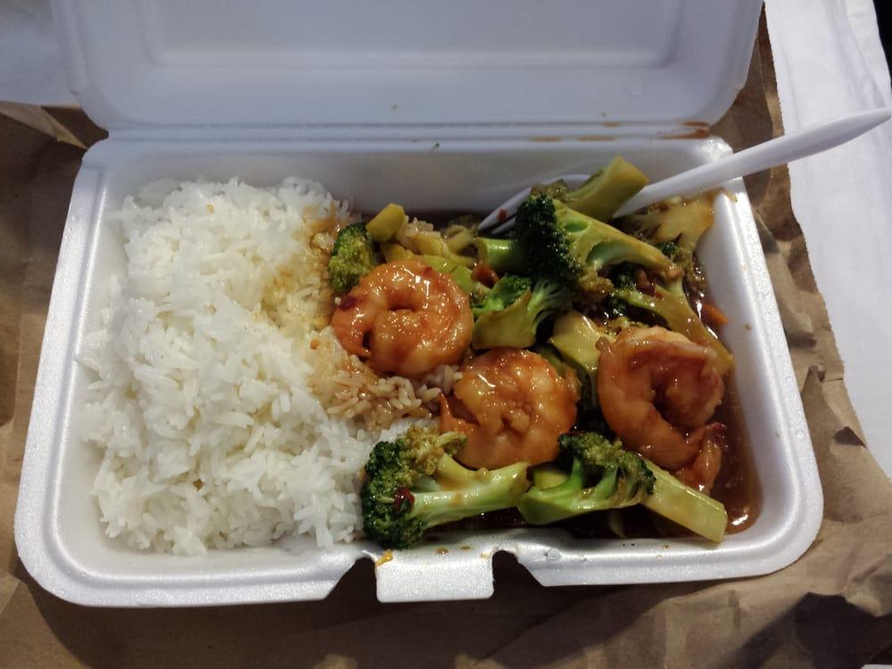 Shrimp With Broccoli In Garlic Sauce From Yummy Yummy