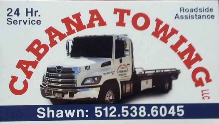 Cabana Towing: Liberty Hill, TX