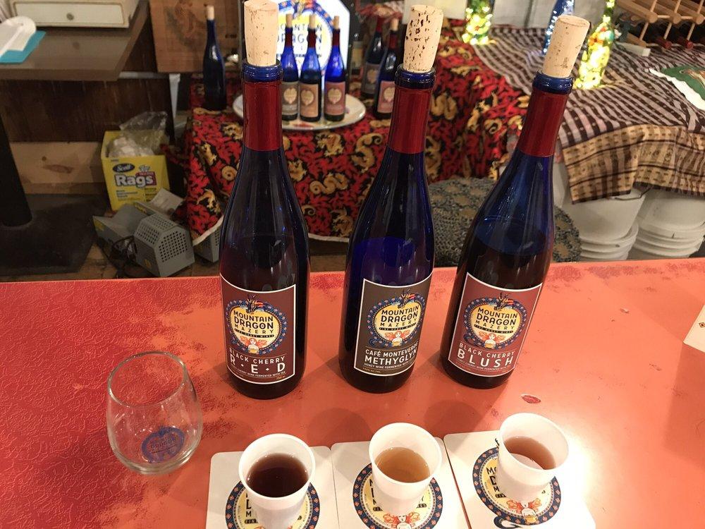 Mountain Dragon Mazery - Fine Honey Wine: 1516 Morgantown Ave, Fairmont, WV
