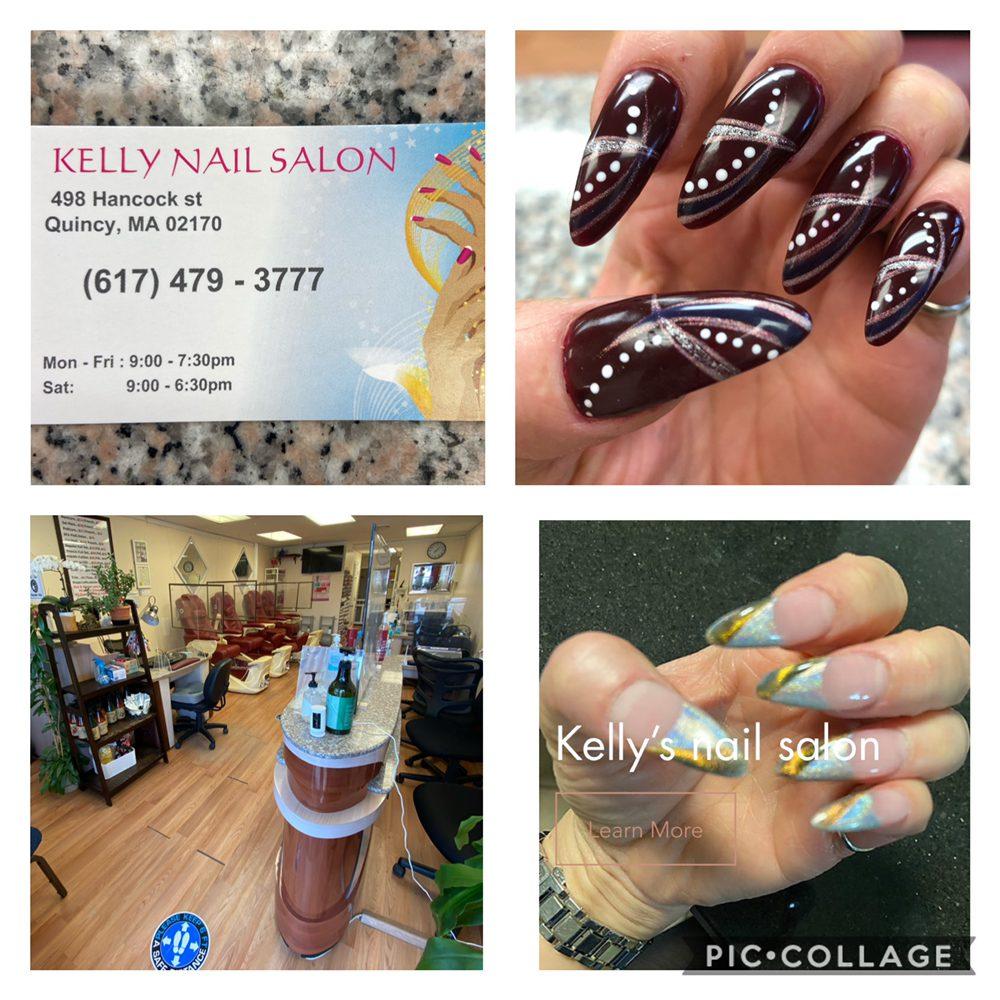 Kelly's  Nails salon: 498 Hancock St, Quincy, MA