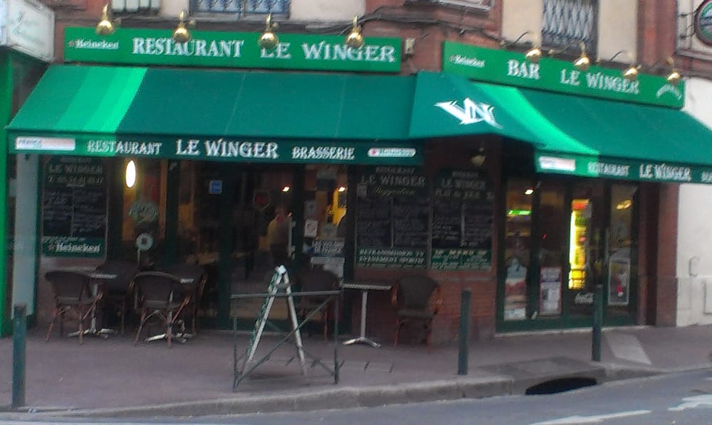 Restaurant le winger bars reviews toulouse france for Restaurant le miroir rue des martyrs