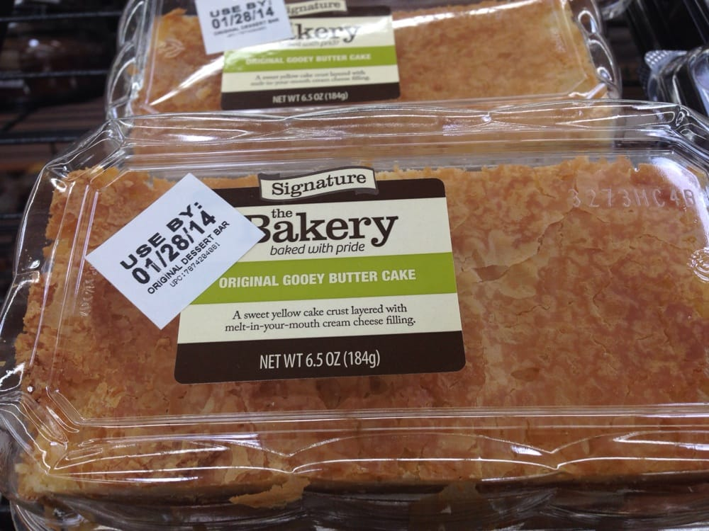 Ooey Gooey Butter Cake At Wally World Yelp