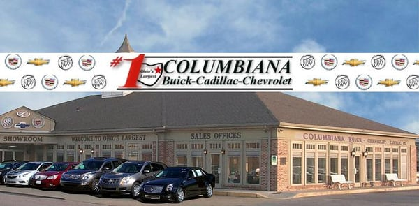 Columbiana Buick Cadillac Chevrolet 21 E Railroad St Columbiana, OH Auto  Dealers   MapQuest