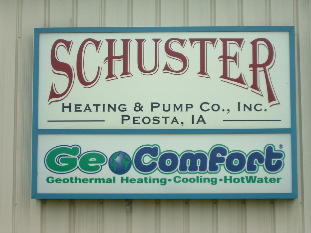 Schuster Heating & Pump: 15674 Key City Ln, Peosta, IA