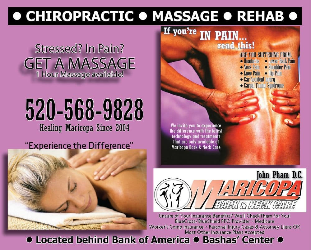 Maricopa Back & Neck Care: 20928 N John Wayne Pkwy, Maricopa, AZ