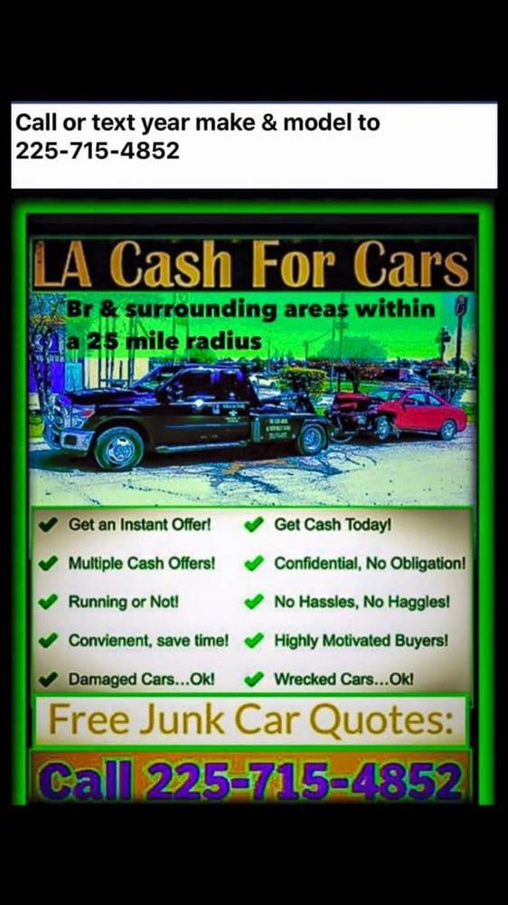 LA Cash For Cars - Car Buyers - 5334 Airline Hwy, Baton Rouge, LA ...