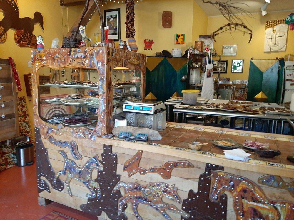 Shugarman's Little Chocolate Shop: 2842 State Hwy 14 N, Madrid, NM