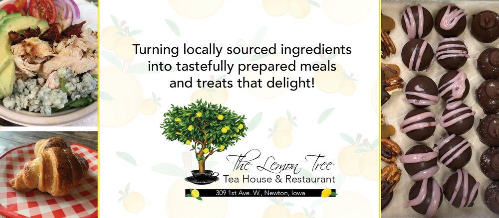 The Lemon Tree Tea House & Restaurant: 309 1st Ave W, Newton, IA