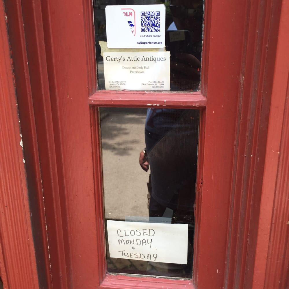 Gerty's Attic Antiques - Antiques - 211 E Main St, Ligonier, PA ...