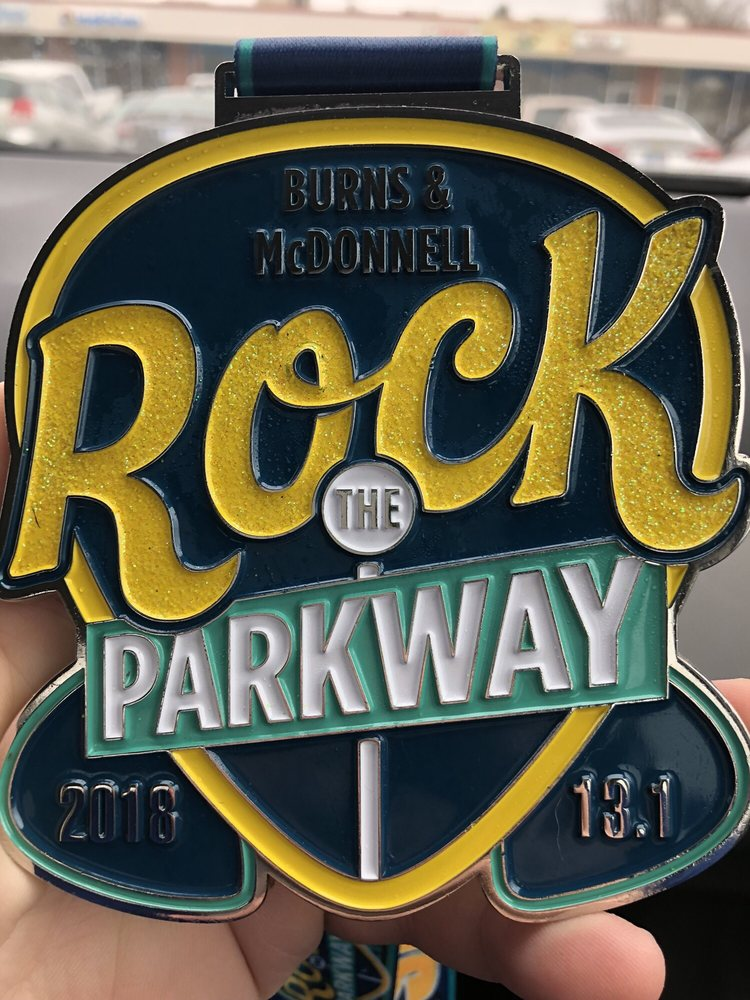 Rock the Parkway Half Marathon and 5k