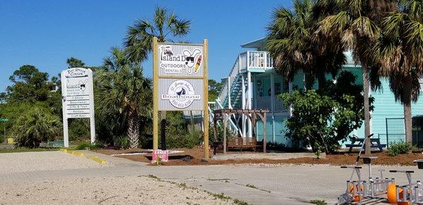 Island Dog Outdoors near St. George Island in St. George Island, FL