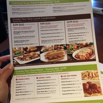 Olive Garden Food Menu Images