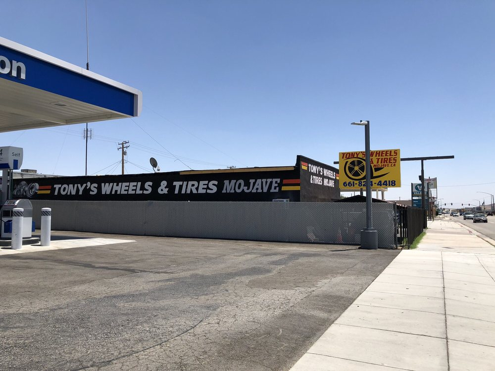 Tony's Wheels & Tires: 15736 Sierra Hwy, Mojave, CA