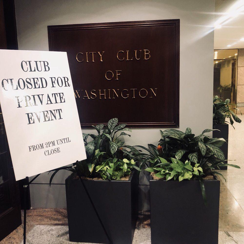 The City Club of Washington