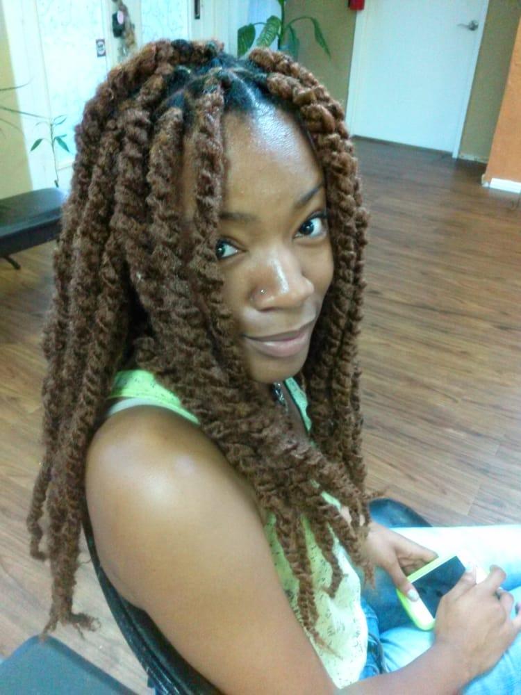 Marley Havanna Twists Extensions Kinda Look Like Thick Locs Yelp