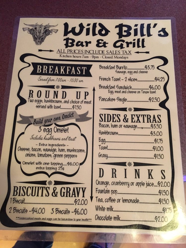 Wild Bills: Bayliss St, Rulo, NE