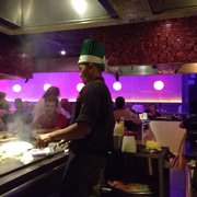 Photo Of Fusion Anese Steakhouse Vienna Wv United States Our Chef Playing
