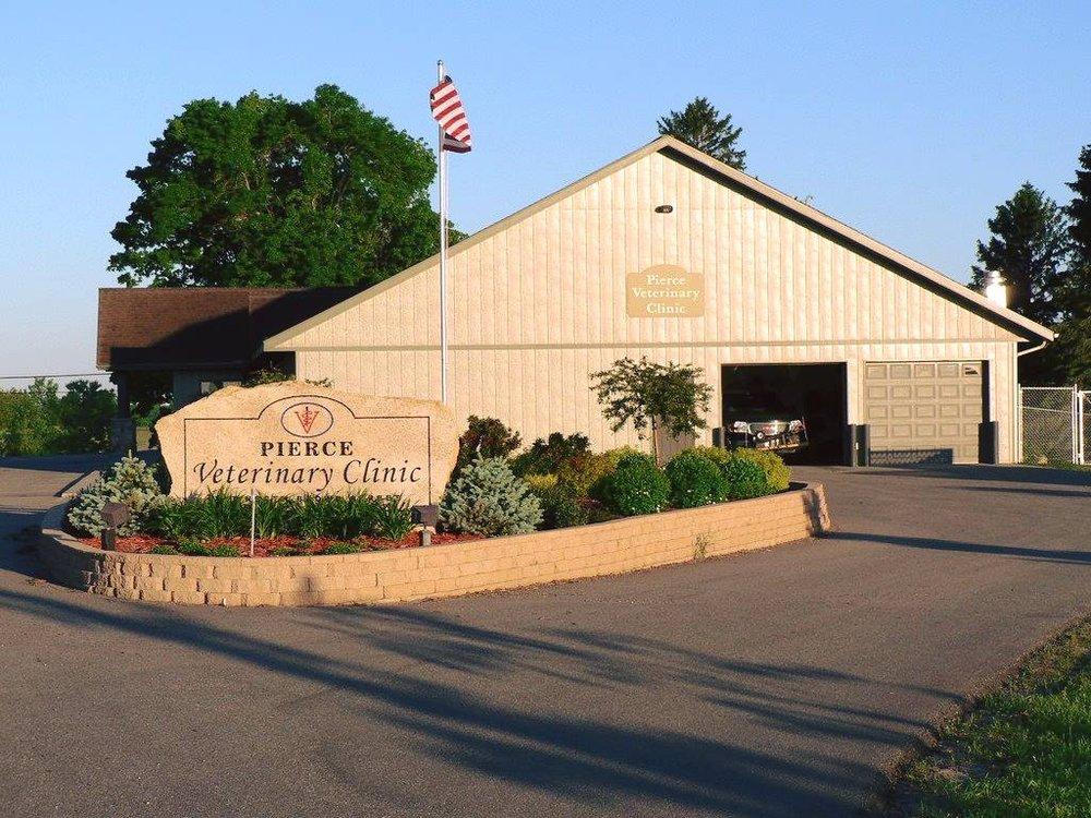 Pierce Veterinary Clinic: 707 Brown St, Ellsworth, WI