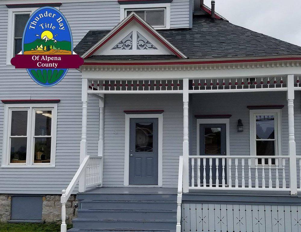 Thunder Bay Title of Alpena County: 621 W Chisholm St, Alpena, MI