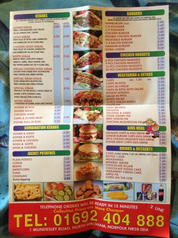 Best kebab pizza t rkisch 1 mundesley road north for Divan kebab carte