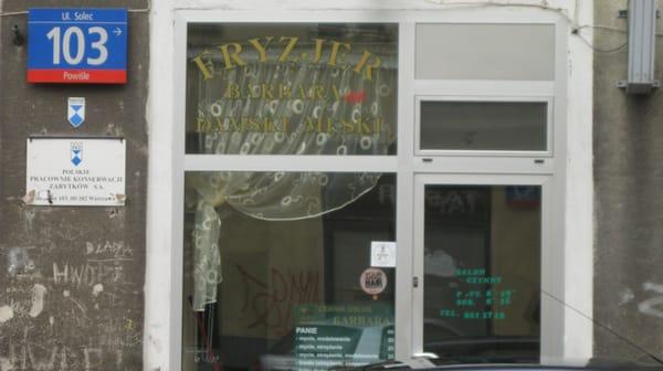 Salon Fryzjerski Barbara Styl Hair Salons Ul Solec 103 Powiśle