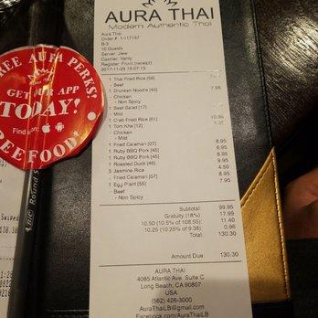 Thai Food In Long Beach Signal Hill