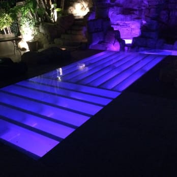 Plexi glass dance floor Swimming pool cover great for ...