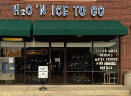 H2O'n Ice To Go: 5001 Main St, The Colony, TX