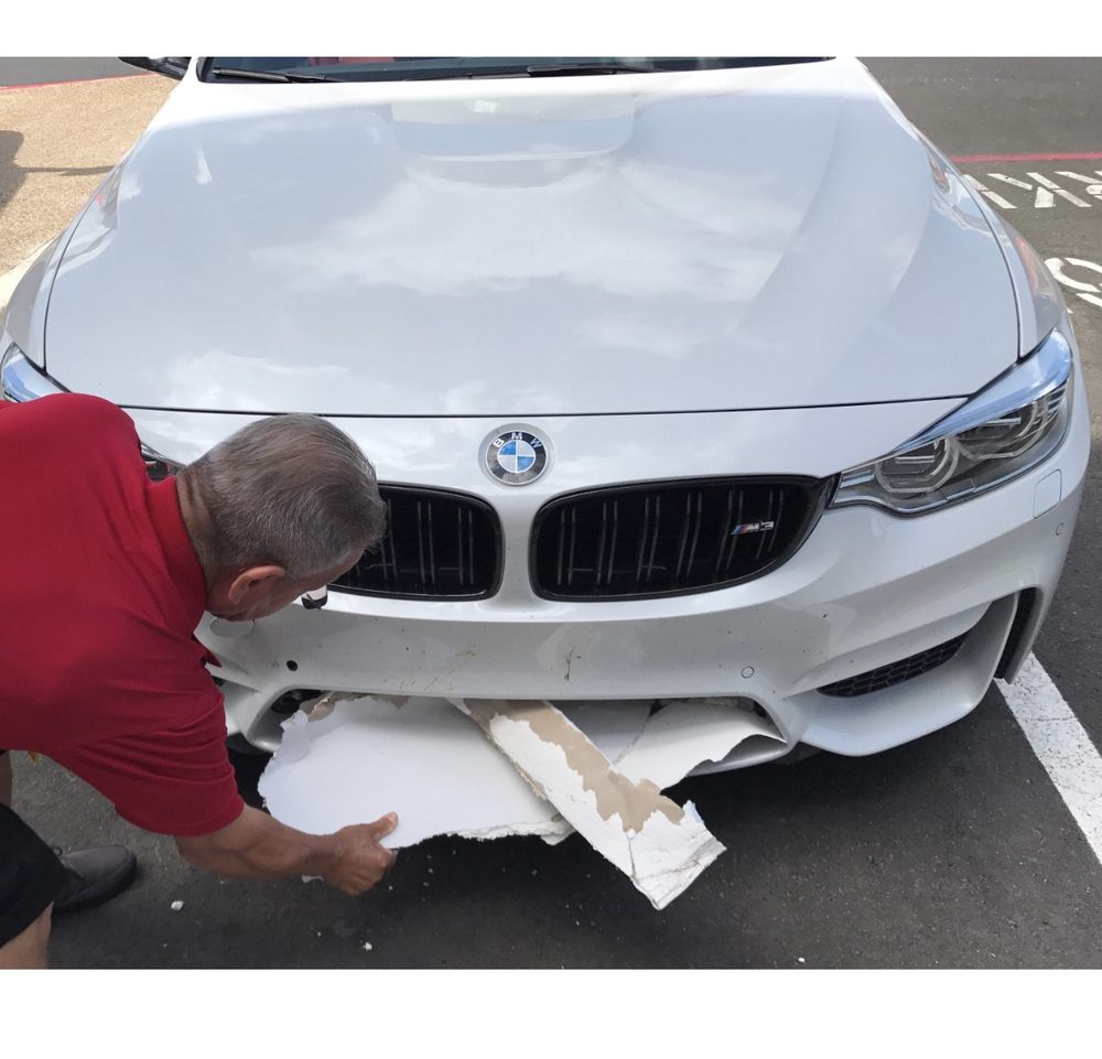 bmw of san antonio delivered my car with damages and they refused to pay for the damages here 39 s. Black Bedroom Furniture Sets. Home Design Ideas