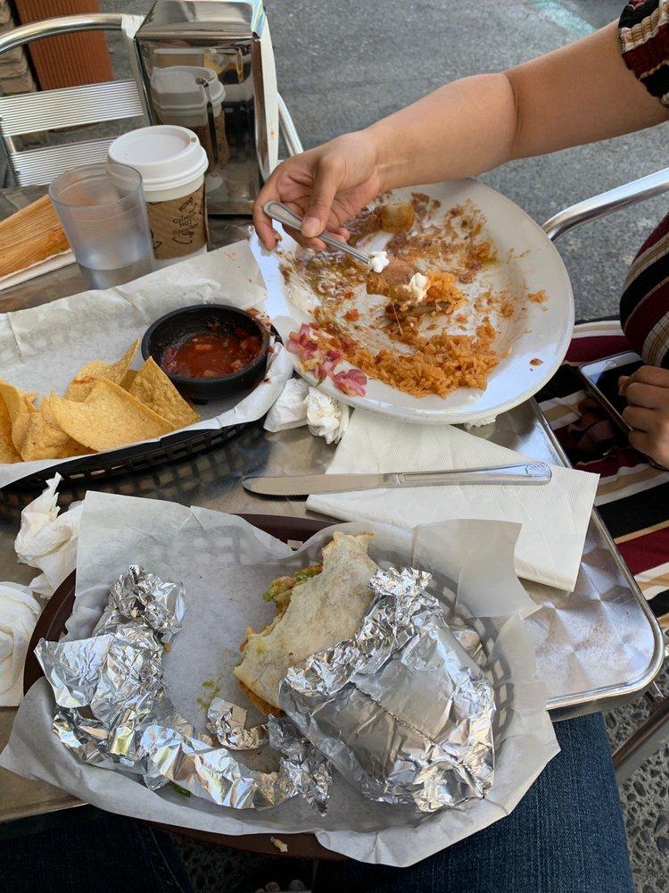 Food from Baja Cali Taqueria & Grill