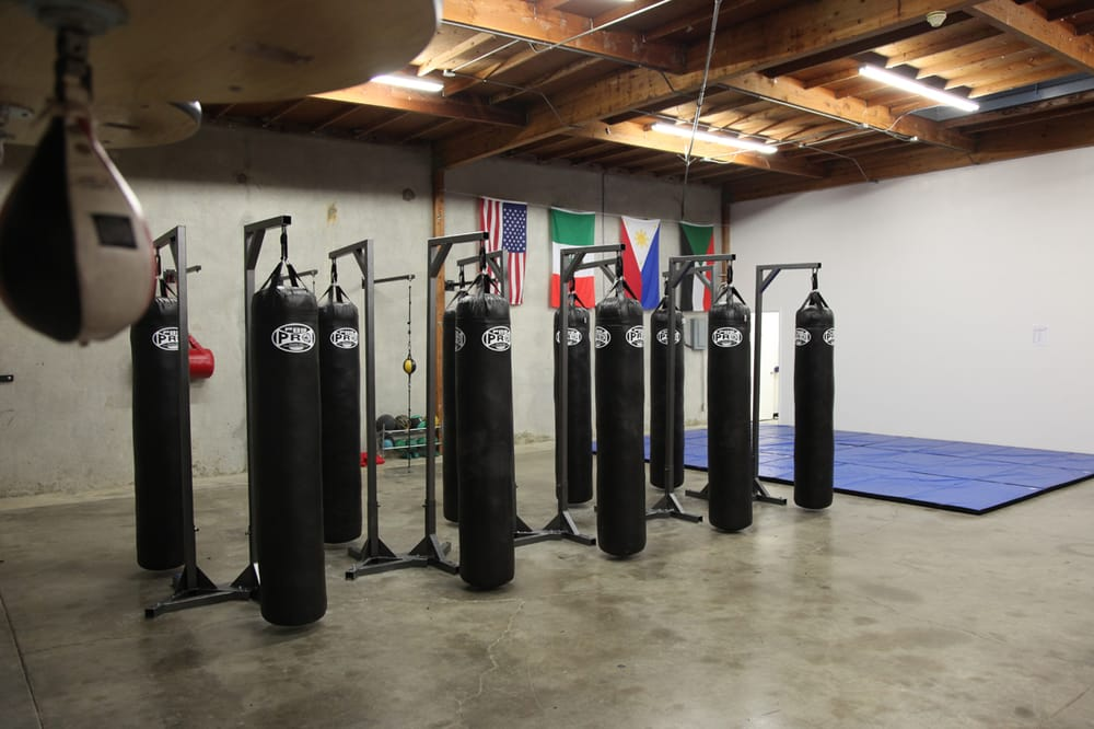 Photo Of Oc Boxing Academy Tustin Ca United States Muay Thai Bags