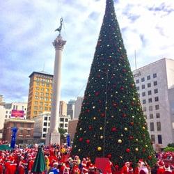 Photo of Macy's Christmas Tree - San Francisco, CA, United States.