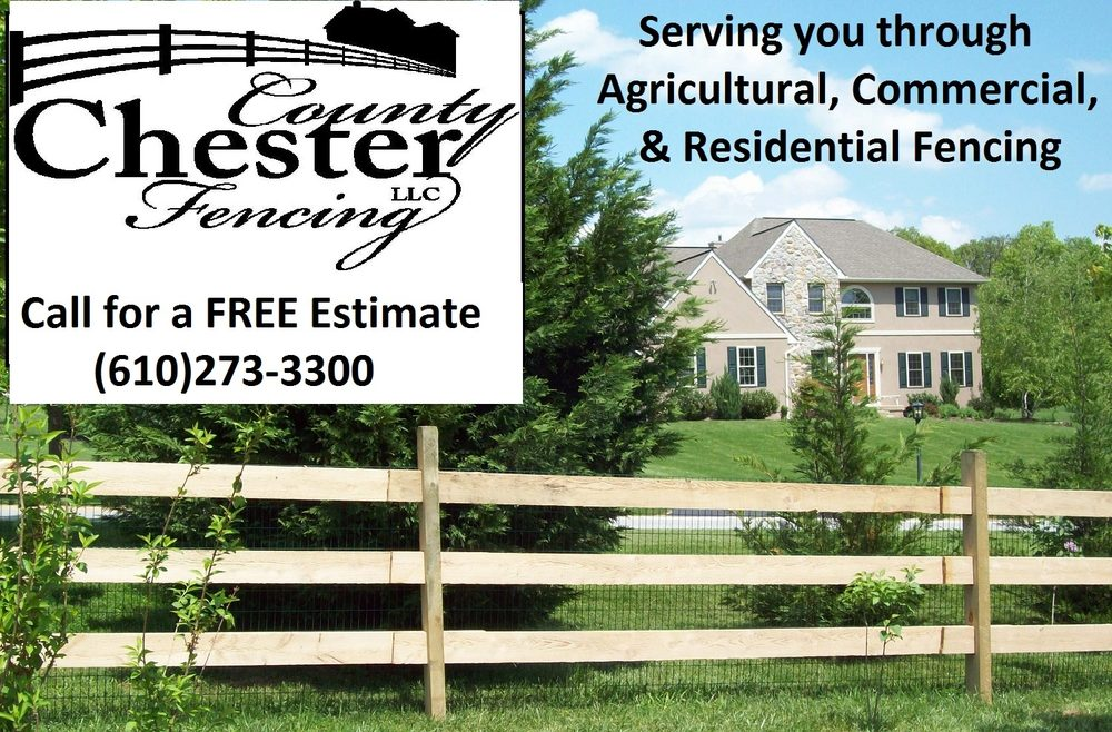 Chester County Fencing: 772 Poplar Rd, Honey Brook, PA