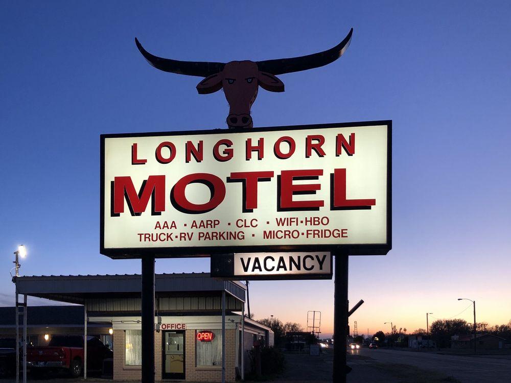 Longhorn Motel: 1012 E Main St, Boise City, OK
