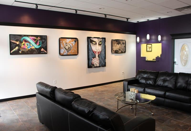 Brand New Tattoo & Gallery: 1509 Pkwy Ave, Ewing Township, NJ