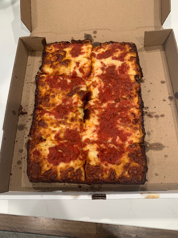 Food from Big D Pizza