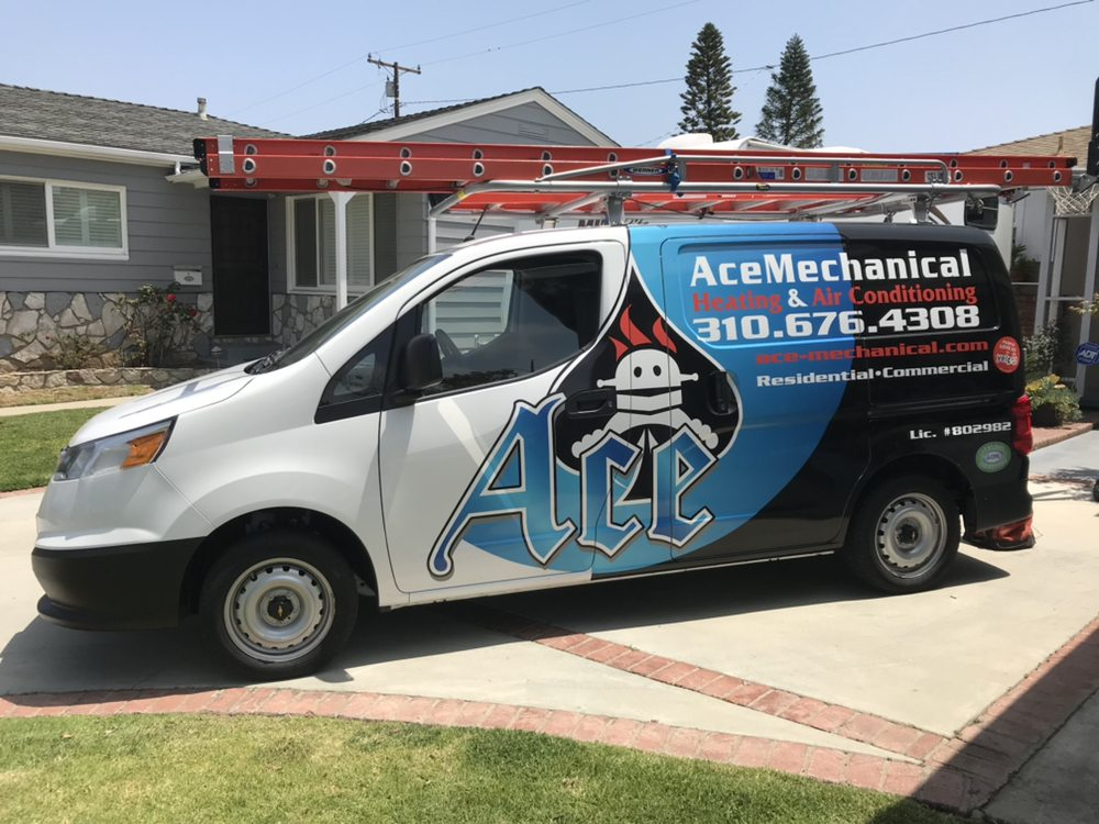 Ace Mechanical Heating & Air Conditioning: 15237 S Crenshaw Blvd, Gardena, CA