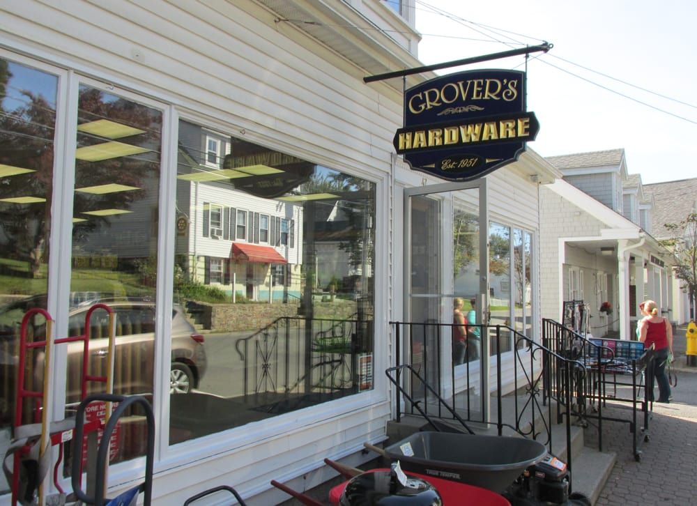 Grovers' Hdwre: 47 Townsend Ave, Boothbay Harbor, ME